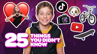 25 Things You Didn't Know About Me **CRUSH Exposes SECRET**| Walker Bryant @Piper Rockelle