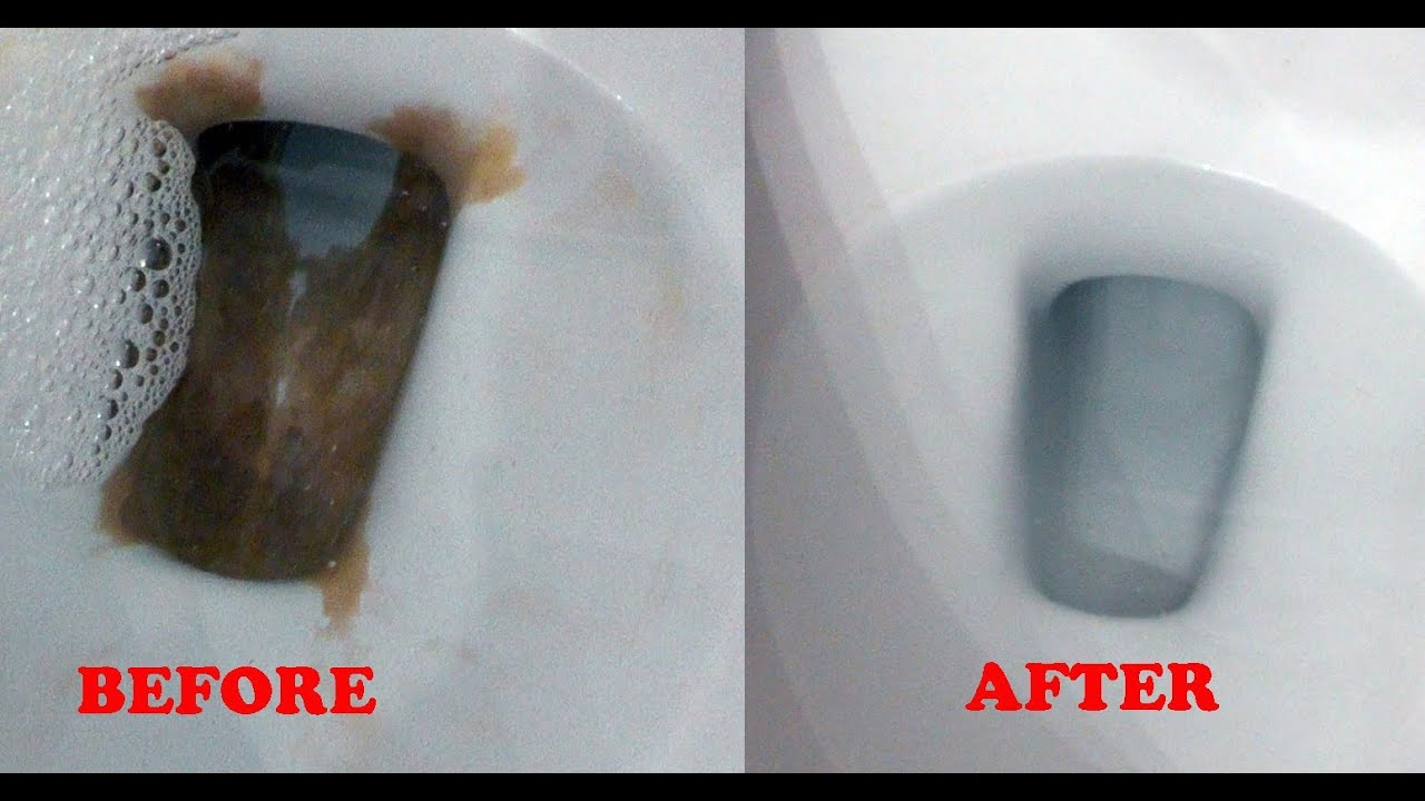 Toilet lazy flush and mineral buildup repair - Lime or Calcium in HD ...
