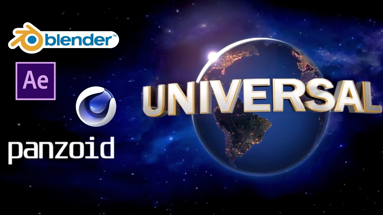 Best 3 Free Universal Intro Template Fast Render Blender Panzoid Ae Youtube