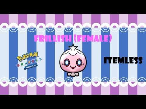 Pokémon Shuffle - Frillish (Female) [Itemless]. 24% Catchability.