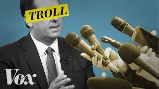 How politicians troll the media