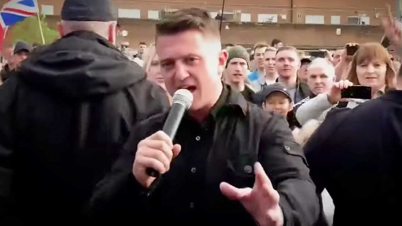 Tommy Robinson's winning a free speech prize! Rebel lands in Copenhagen, Denmark | Ezra Levant