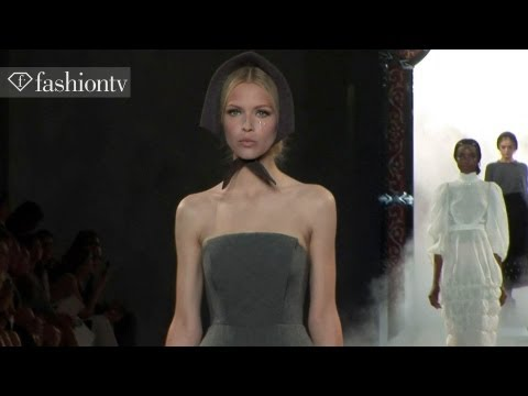 Ulyana Sergeenko Couture Fall/Winter 2013-14 | Paris Couture Fashion Week | FashionTV