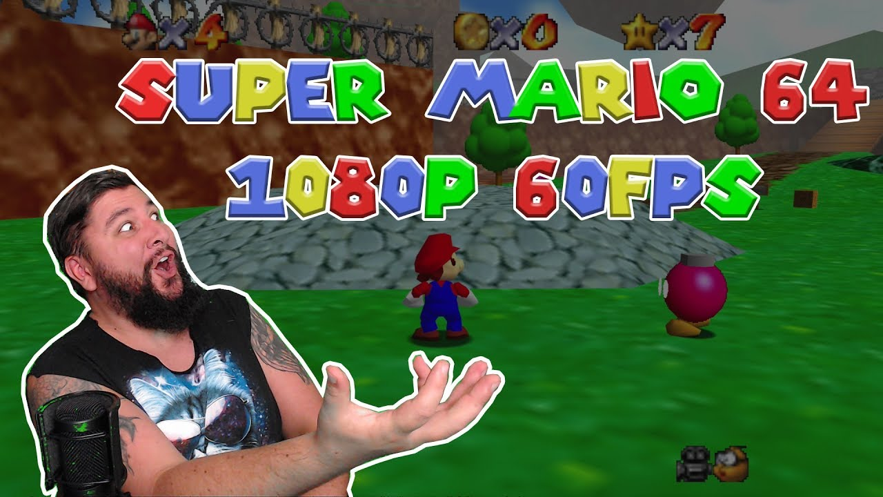 How to play Super Mario 64 1080p 60fps [Download Links