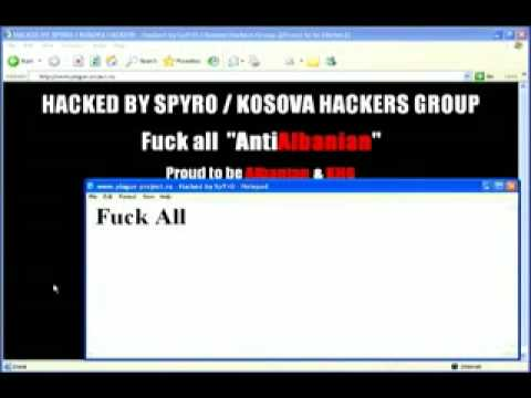 Russia Official Website Hacked by Kosova Hackers Group