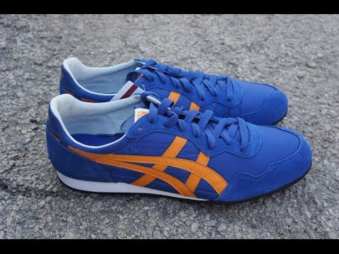 Onitsuka Tiger Serrano 2015 review - YouTube