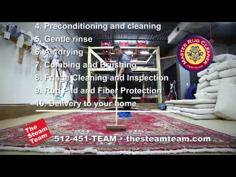 Rug Cleaning By The Steam Team of