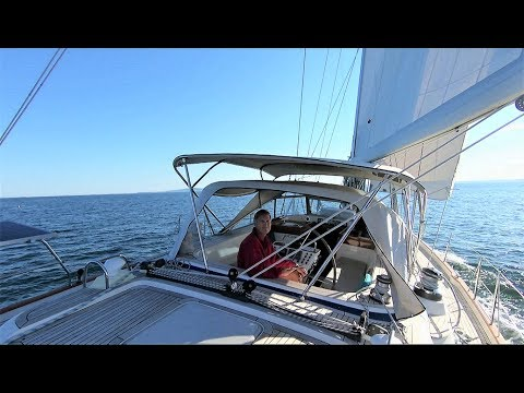 2018 Season Ep33. Sailing Maine - Sailing Mount Desert Island To Camden - HR54 Cloudy Bay, July 2018