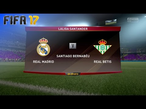 FIFA 17 - Real Madrid vs. Real Betis @ Estadio Santiago Bernabéu