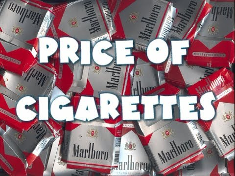 Cost Of Living #13 - Market: Price Of Pack Of Cigarettes
