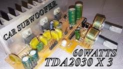 Car Subwoofer Amplifier Kit - 12Volts