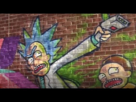 Sacramento Street Art Mural Jam 2017