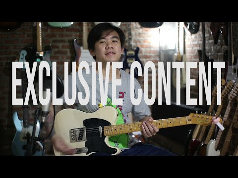 EXCLUSIVE CONTENT - REVIEW SQUIER TELECASTER CLASSIC VIBE 50S ( BANGBONG MUSIC BEKASI )