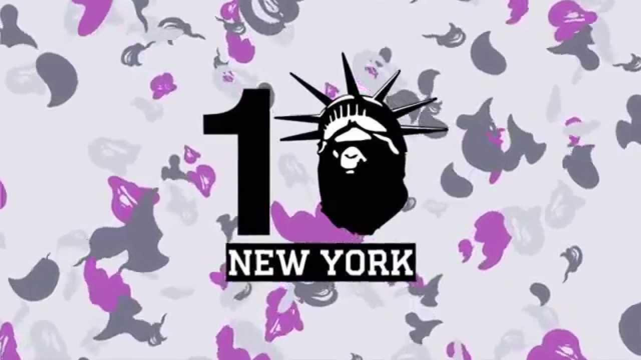 1e6d35e013 BAPE® NYC 10th Anniversary - YouTube