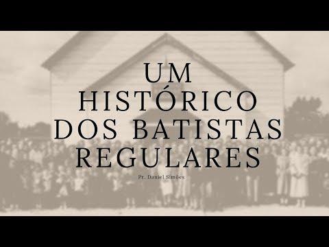 Palestra sobre a história dos Batistas Regulares