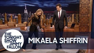 History-Making Ski Racer Mikaela Shiffrin Teaches Jimmy to Shuffle Dance