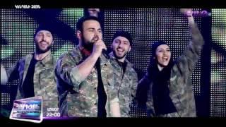 X-Factor4 Armenia Abraham Khublaryan - Sirusho - Zartonk (gala 7) 02.04.2017