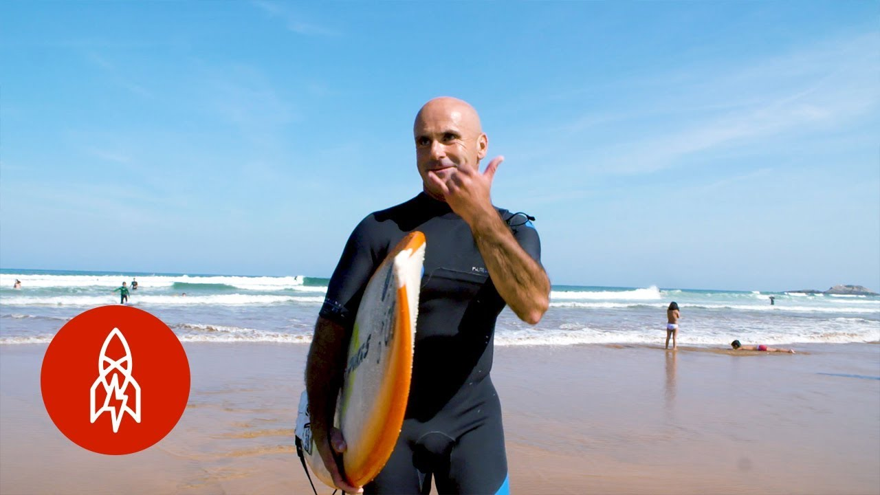Making Waves With a Blind Surfer