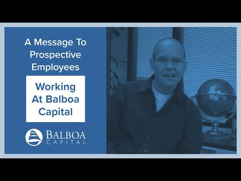 Working at Balboa Capital | Leading Equipment Leasing Company