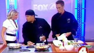 Chef Brian Roland and and Chef JAG on Fox News 4(Check out Chef Brian Roland cooking with Chef JAG (Joshua Adam Garcia) on Fox 4 Rising. JAG, from the TV Food Network reality TV show