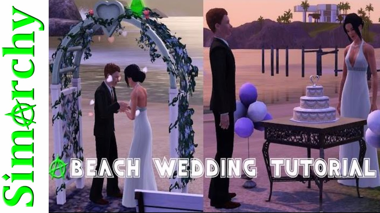 How To Setup A Beach Wedding Build And Buy On Community Lot The
