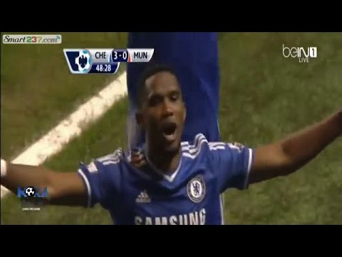 Eto'o - Triplet historique (Chelsea vs Man United. 3-1)