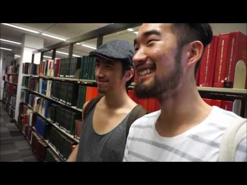The UNSW uni's Library with Shanghai Radio DJ