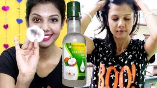 PATANJALI VIRGIN COCONUT  OIL: REVIEW AND USES YOU MAY NOT KNOW..... | KRISHNA ROY MALLICK