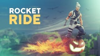 THE ROCKET MAN! RIDING A ROCKET IN FORTNITE!