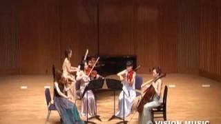 弦楽四重奏(バイオリン×2、ビオラ、チェロ)+ピアノの生演奏
