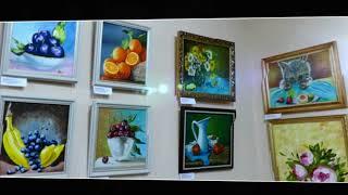 Видеопрезентация с выставки «Начало» Соломатова Алена, НХМ