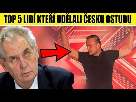 TOP 5 lidí, kteří udělali ČESKU OSTUDU ve světě from YouTube · Duration:  2 minutes 13 seconds