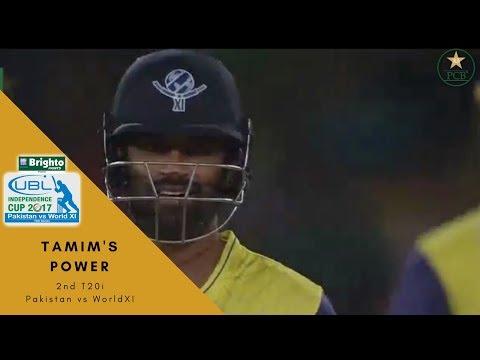 Tamim SIX! to Imad Wasim | Independence Cup 2017 | Pakistan vs World XI