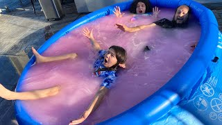 Last To Leave the PINK VALENTINE'S DAY SLIME POOL wins $10,000