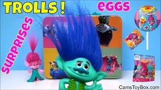 Dreamworks Trolls Blind Bags Surprise Eggs Toys Chupa Chups Chocolate Series 1 2 3 4 Poppy