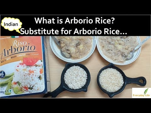 What is Arborio Rice ?| Indian Substitute for Arborio Rice (in Hindi) |  Everyday LIfe