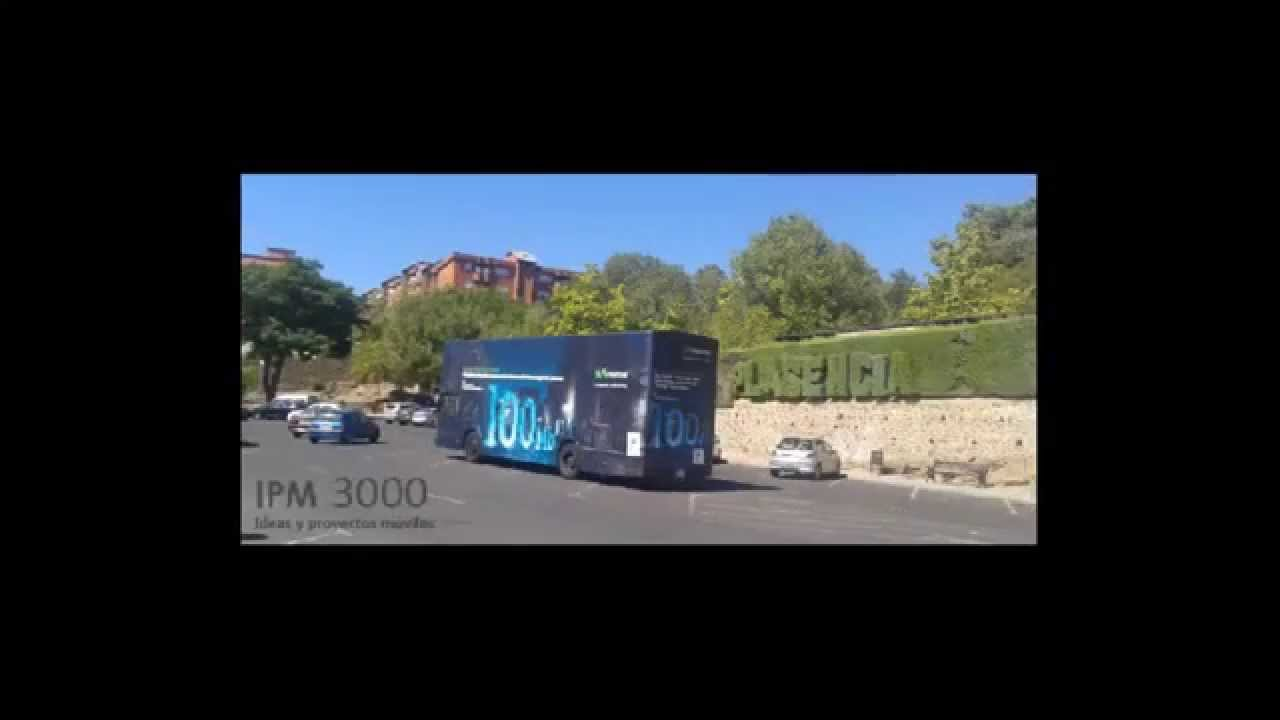 Autobus Petaca Movistar, ipm3000 ideas y proyectos moviles