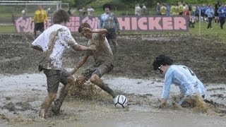 Swamp Soccer World Cup: there will be mud