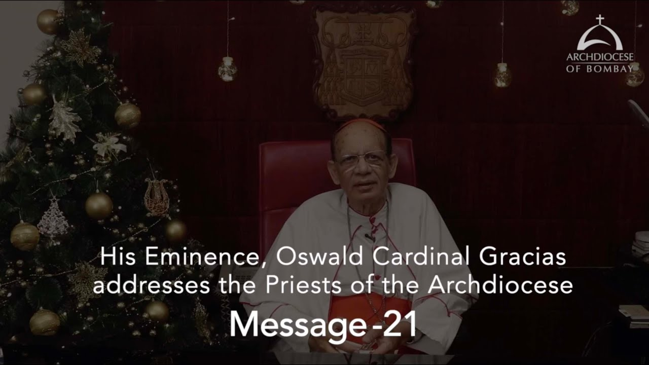 A Message from His Eminence to the Priests of the Archdiocese of Bombay - Christmas