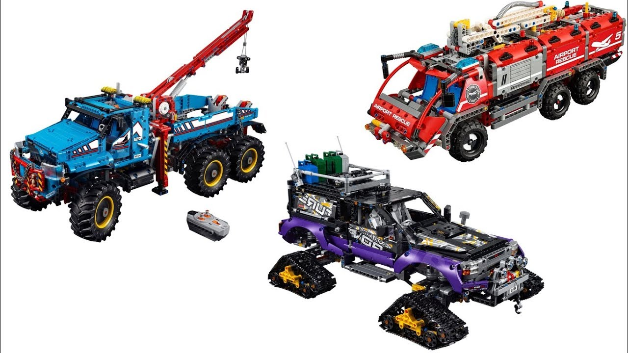 lego technic 2017 summer sets official images youtube