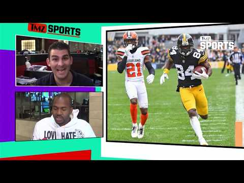 Steelers' Antonio Brown Rocks New 'Browns' Gear, Let's Go Cleveland! | TMZ Sports