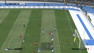 PES 2015 Gameplay: Serbia vs. Italy [First Match] [HD] [PC]