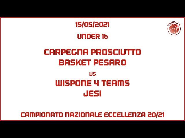 [u16] Carpegna Prosciutto Basket Pesaro - Wispone 4 Teams Jesi:  118-42