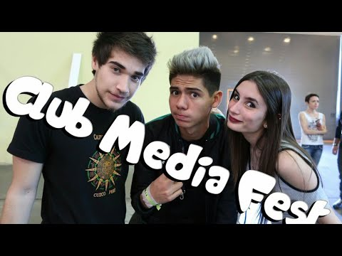 CLUB MEDIA FEST ARGENTINA 2017 CON MUCHOS YOUTUBERS | Melina Vallejos