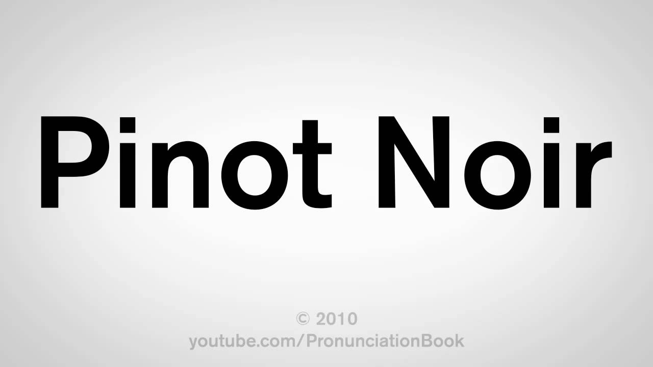 How to Pronounce Wines Correctly  Tasting Table