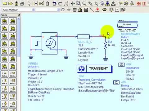 Eye Closure Solutions and Channel Simulation in ADS (Part 1)