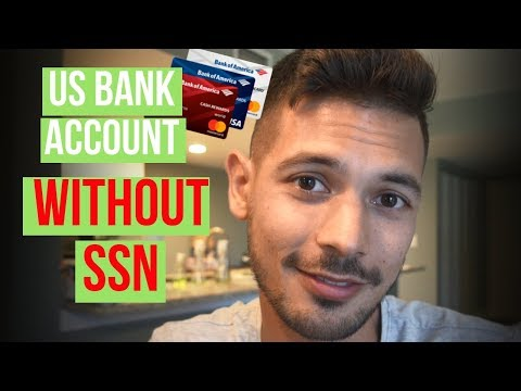 How To Open A US Bank Account & Credit Card As A Foreigner (Without SSN)