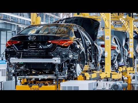 NEW Mercedes C-Class 2022 - PRODUCTION plant in Germany (This is how it's made)