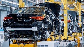 НОВЫЙ Mercedes C-Class 2022 - ПРОИЗВОДСТВЕННЫЙ завод в Германии (вот как это сделано)