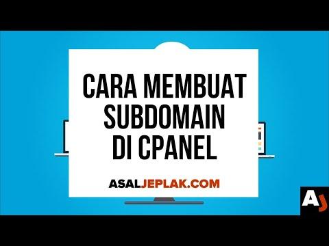 Cara Membuat Subdomain di cPanel | Seri Belajar Web